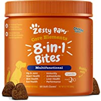 Zesty Paws Multivitamin Treats for Dogs - Glucosamine Chondroitin for Joint Support + Digestive Enzymes & Probiotics…