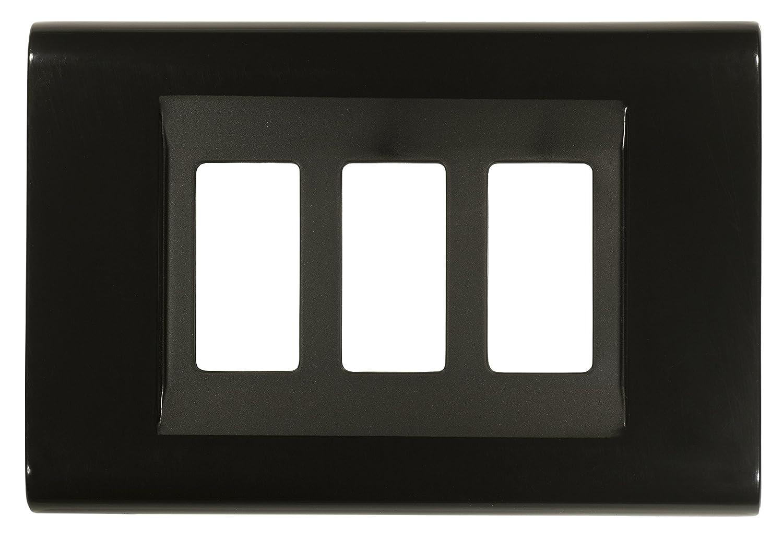 Nero FEB 2583//N Placca Click 3 Moduli