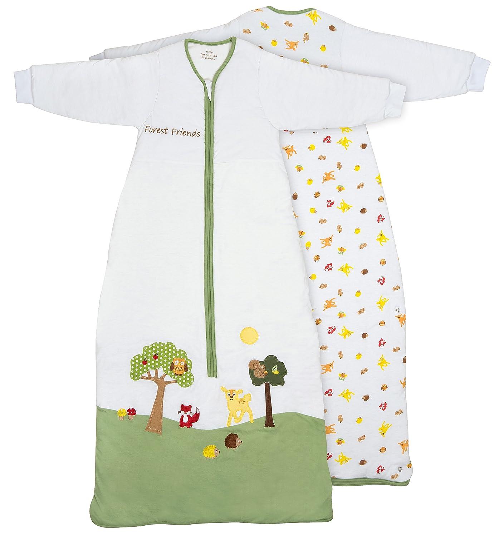 Slumbersac 標準タイプ キッズ スリーピングバッグ 長袖 2.5Tog 森のなかまたち - 3~6歳/130cm 3~6歳  B00WULMVX6