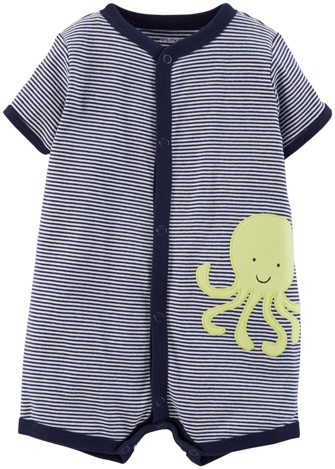 Carters Baby Boys Striped Romper product image