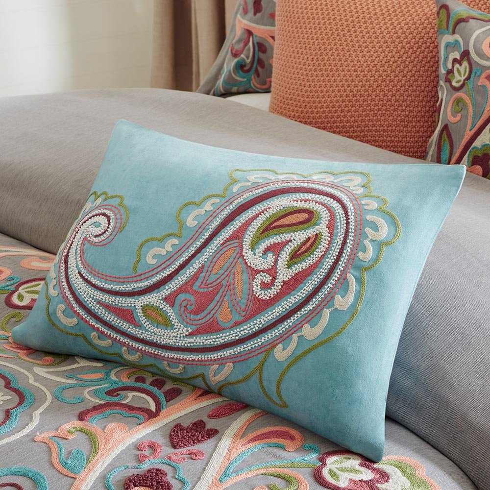 Amazon.com: Hampton Hill Persian Paisley Comforter Set: Home & Kitchen