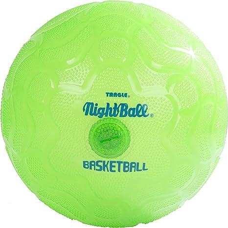 Nightball Balón de Baloncesto con luz LED, Verde: Amazon.es ...