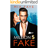 Million Dollar Fake: An Enemies to Lovers Romance book cover