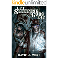 Let Sleeping Gods Lie: A Lovecraftian Gods Horror Story (Cowboys & Cthulhu Book 1) book cover