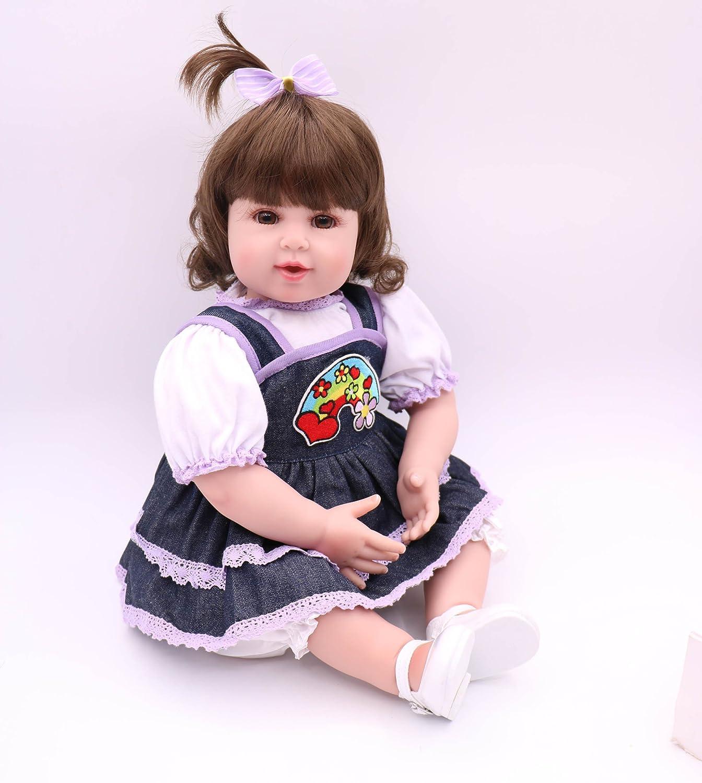 ピンキー20インチ50 cm Rebornベビーガール幼児用Realistic Looking新生児人形Rebornsソフトビニールシリコン赤ちゃん   B07B7J8YYH