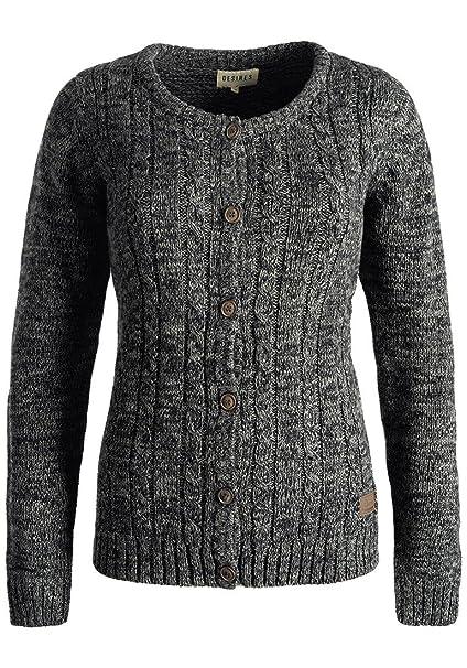 807b455c3cf15b Desires Philena Cardigan Giacca di Maglia Grossa Maglieria da Donna  Abbottonatura in Cotone 100%: Amazon.it: Abbigliamento