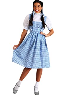 863765b4a8539 Amazon.com: Adult Dorothy Wizard of Oz Dress Costume: Clothing