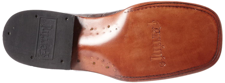 Ferrini Women's Print B00C67QXG0 Alligator S-Toe Western Boot B00C67QXG0 Print 10 B(M) US|Chocolate f31279