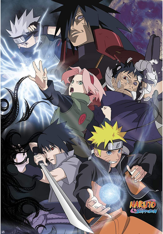Naruto Shippuden Poster Group Ninja War (98x68)