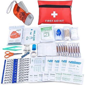 que lleva un botiquin de primeros auxilios personal