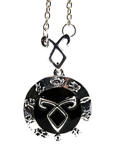 Mortal Instruments City of Bones - Angelic Power Necklace Pendant Power Rune SHADOWHUNTER Clary Fray eQPGvyPS5
