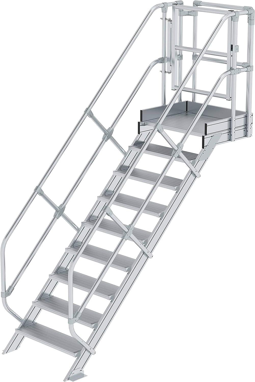 GÜNZBURGER STEIGTECHNIK Módulo de escalera 9 peldaños: Amazon.es: Oficina y papelería