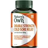 Nature's Own Double Strength Cold Sore Relief - Relieves symptoms and helps reduce occurrence of facial cold sores, 100…