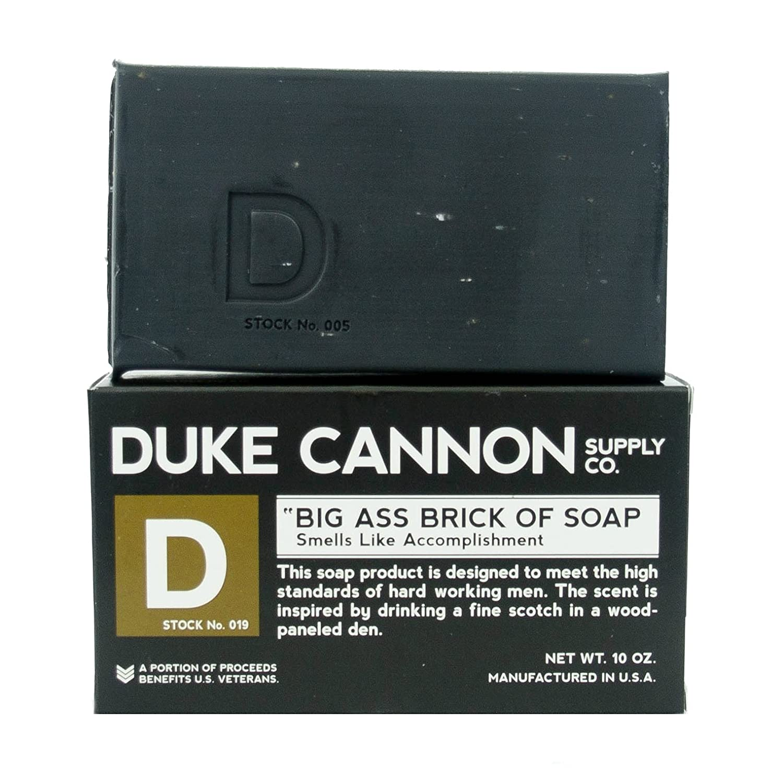 Duke Cannon Big Brick of Soap for Men 3 Bar Variety Set Productivity, Accomplishment Big Ol Brick of Hunting Soap