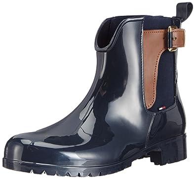 Oxley 2Z Rain boots Tommy Hilfiger | Black | Gomez.plen