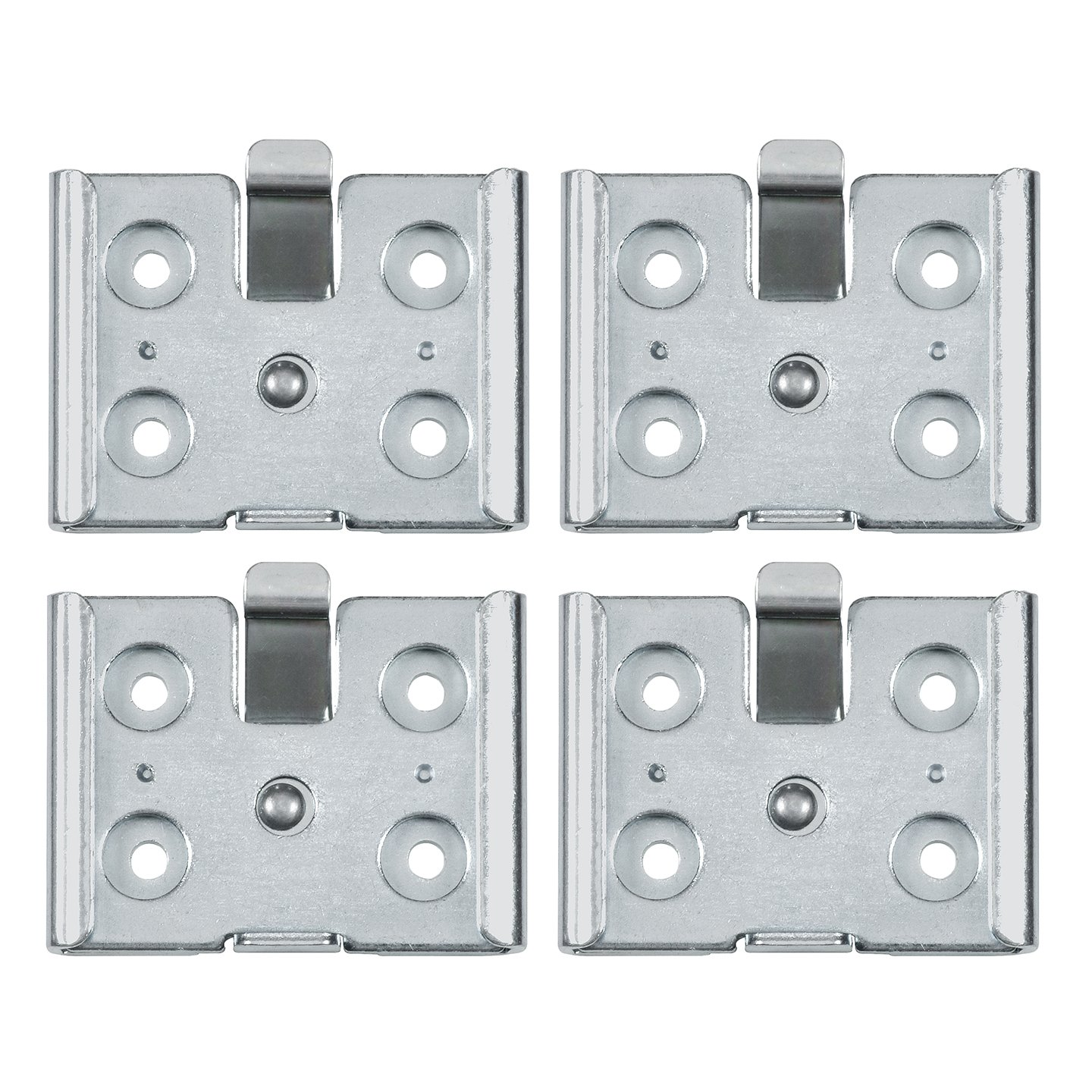 Reliable Hardware Company RH-9007-4-A Small Removable Caster Plate - Set of 4