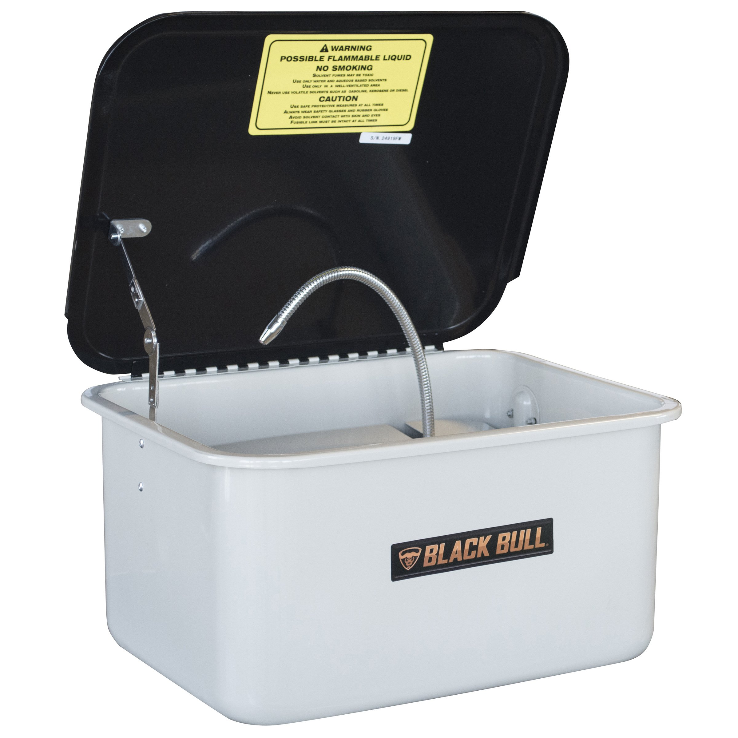 Black Bull PWASH35 Parts Washer with 3.5 Gallon Capacity