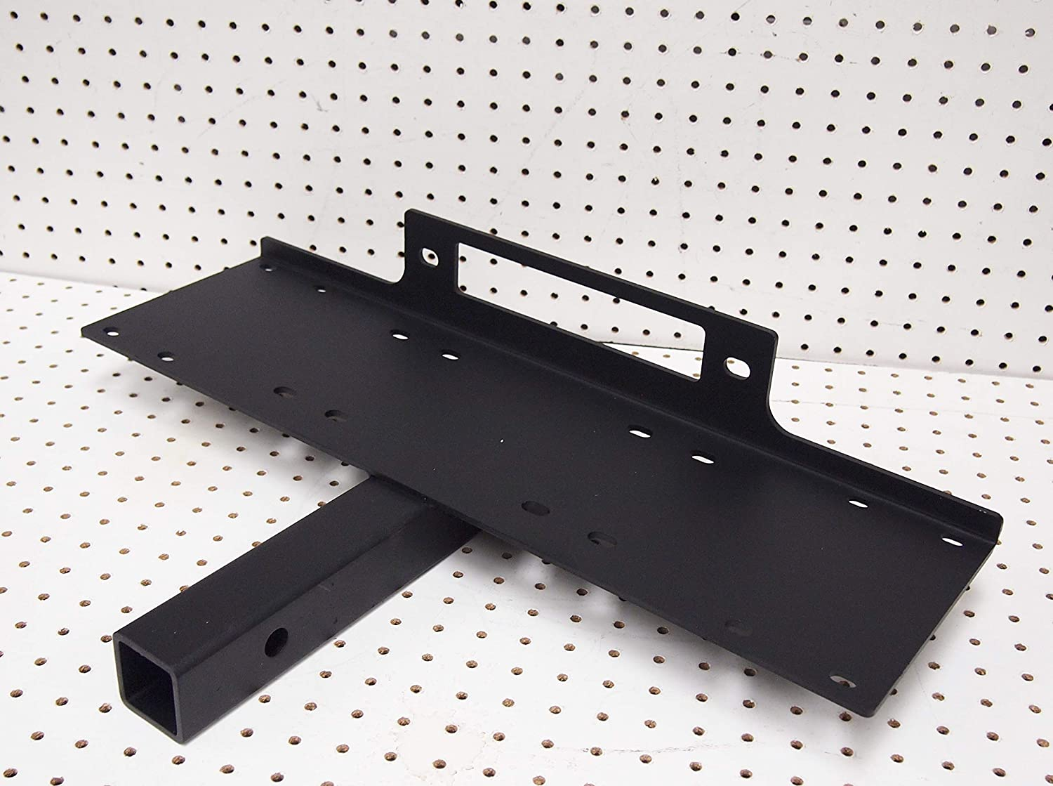 Winch Hitch Receiver Mount Plate Winches 24 x 7 9000 LB Capacity