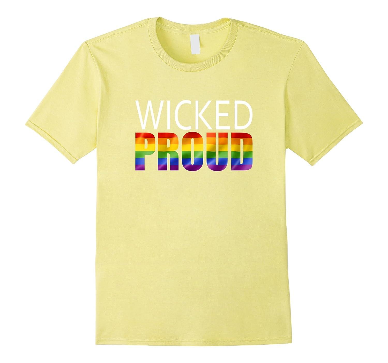 Wicked Proud Shirt - LGBT Boston Pride T-Shirts-Vaci