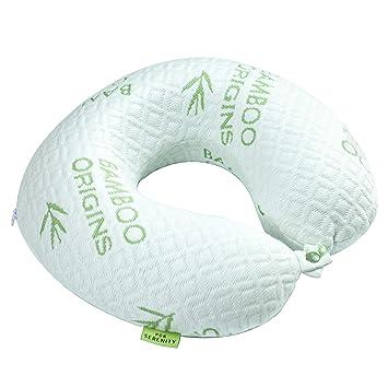 Amazon.com: PUR Serenity Bamboo almohada de viaje para el ...