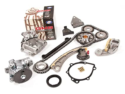 Evergreen TK8004WOP Chevrolet Suzuki J18A J20A Timing Chain Kit, Oil Pump,  and GMB Water Pump (with Gears)