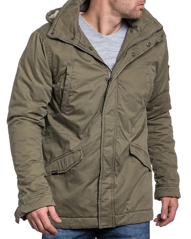 Deeluxe 74 - Long jacket lined khaki man