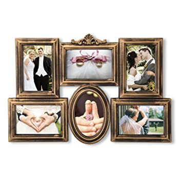 Amazon Decenthome 6 Opening Photo Collage Picture Frames Wall