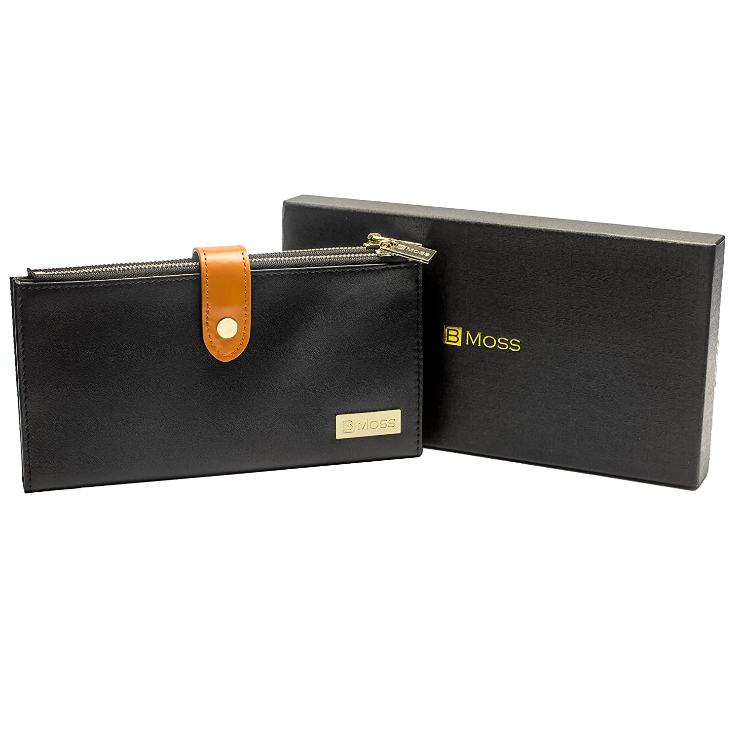 BMoss Leather Collection Luxur...