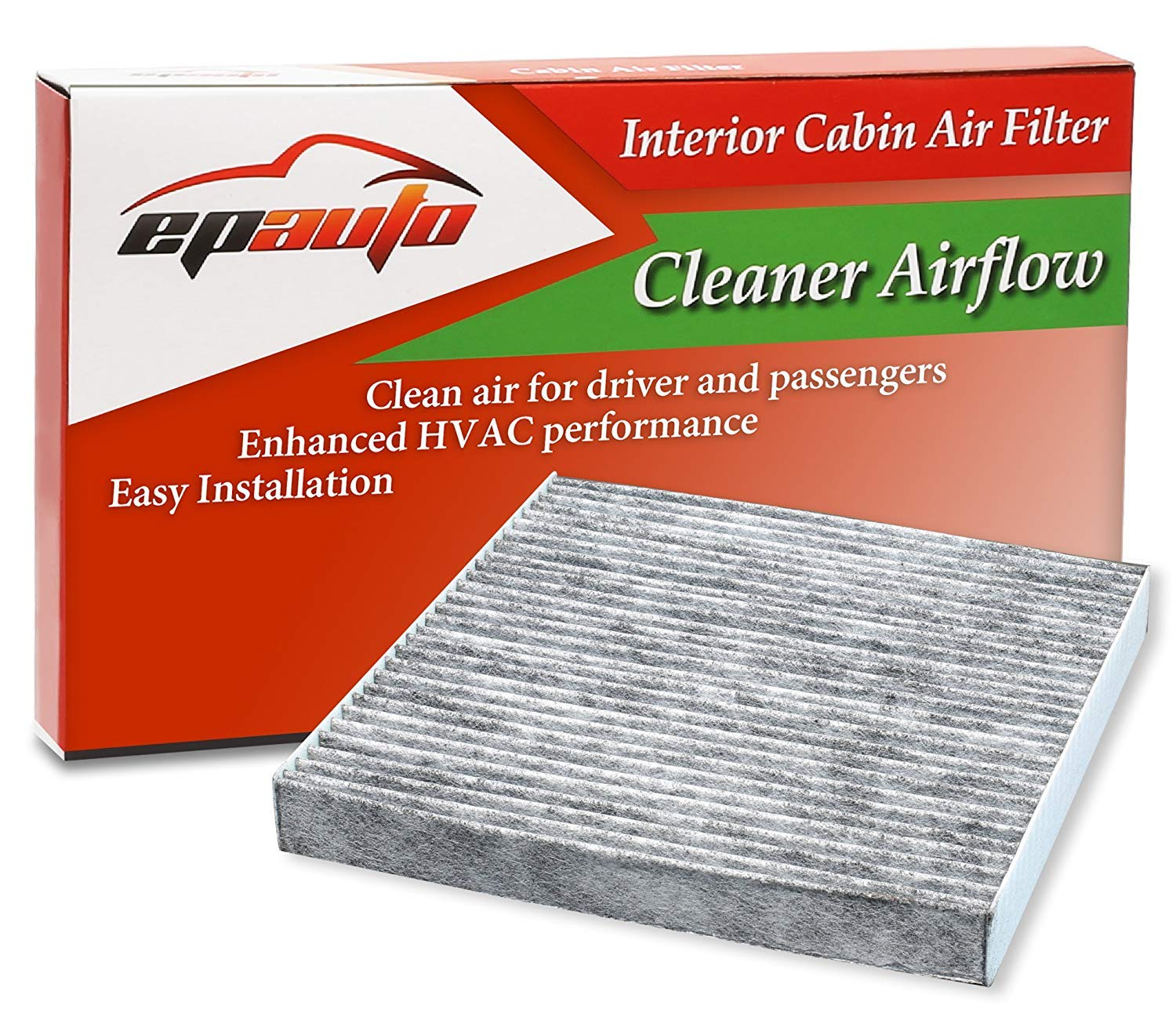 CP134 (CF10134) Replacement for Honda & Acura Premium Cabin Air Filter includes Activated Carbon