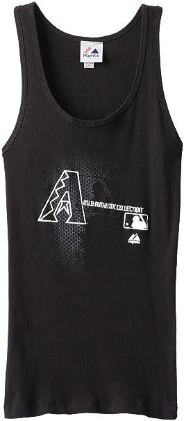 reputable site 9507a 38ca1 MLB Arizona Diamondbacks Women's Change Up Sleeveless Tank Top, Black