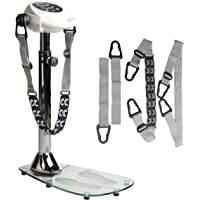 body coach Erwachsene Massagegerät Vibro Massager Deluxe Glas, Weiß, L x B X H : 73,5 x 42 x 107 cm