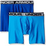 Under Armor men's O series, 6 inches, BoxerJock, 2 pack