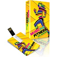 Music Card: Music For Fitness - Stay Energized (8GB Music Card)