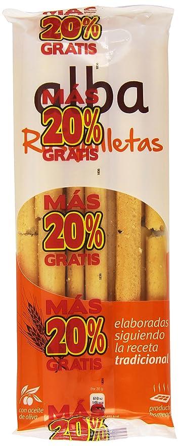 Alba Rosquilletas Palitos de Pan con Aceite de Oliva - 70 g