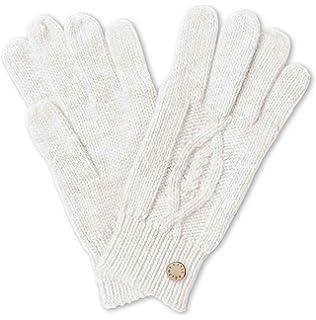 e103fc9c9ce7 Katie Loxton - Gants blancs en maille torsadée - Femme blanc blanc Medium