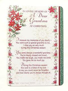 Nan Graveside Memory Card In Loving Memory Of A Very Dear Nan Nan