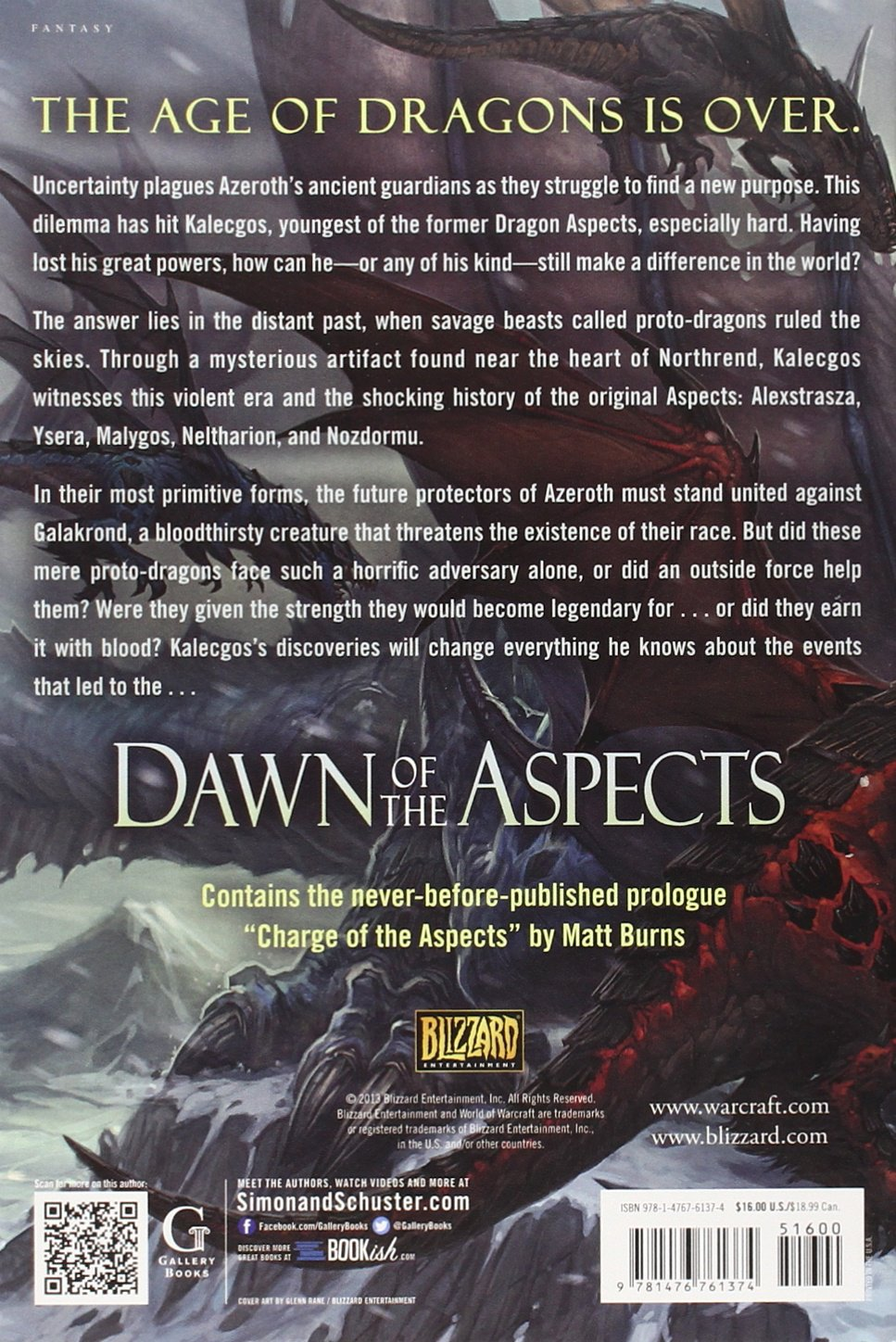 Dawn of the Aspects: Part IV (World of Warcraft)