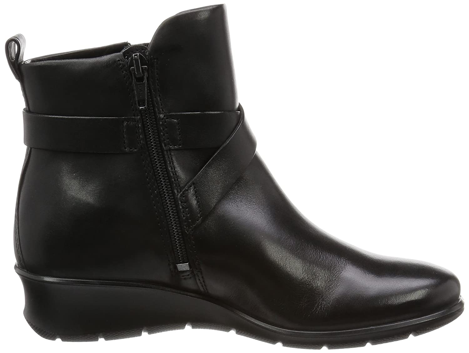 ECCO Women's Felicia Ankle M Buckle Boot B01AAUGQ7K 42 EU/11-11.5 M Ankle US|Black 05b6b3