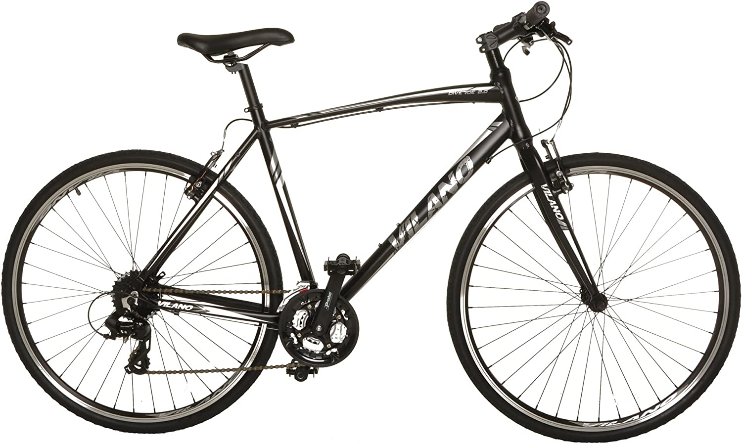 """Vilano Diverse 2.0 Performance Hybrid Bike 24 Speed Road Bike 700c""Vilano Bikes Review"