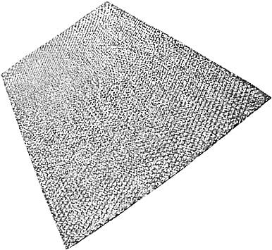 Spares2go filtro de malla de aluminio de gran para el progreso campana extractora/extractor ventilación (89 x 48 cm, corte a tamaño): Amazon.es: Hogar