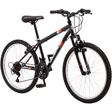 cc5ffed1bb7 Amazon.com : 24 Roadmaster Granite Peak Boys Mountain Bike (24 Inches  (Wheel Diameter), Black) : Childrens Bicycles : Sports & Outdoors