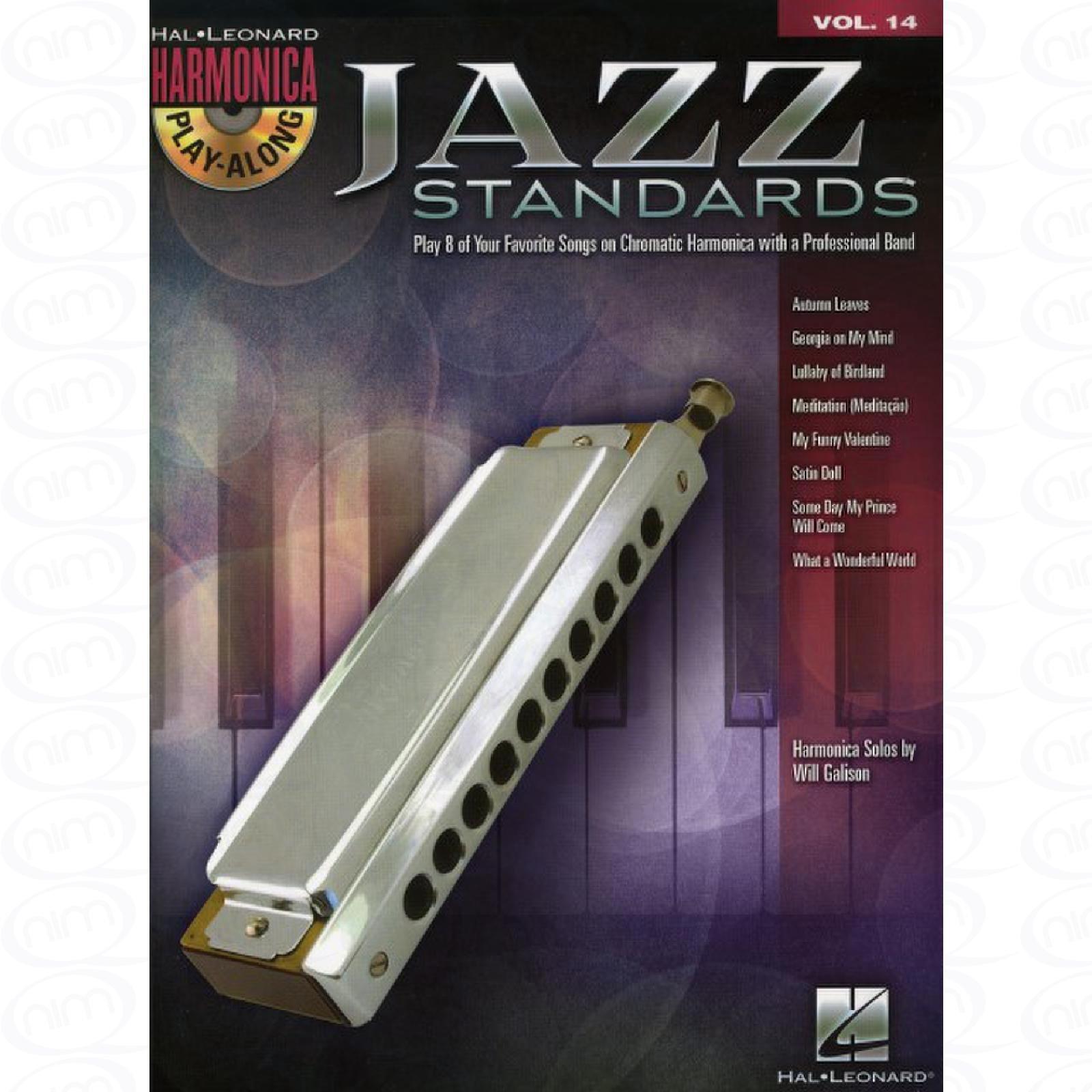 JAZZ STANDARDS   Arrangiert Für Mundharmonika   Mit CD  Noten Sheetmusic  Aus Der Reihe  Harmonica Play Along 14