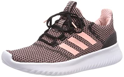 info for 7a740 c4fd3 adidas Cloudfoam Ultimate, Chaussures de Running Femme, Multicolore (Cblack  Cleora Ftwwht