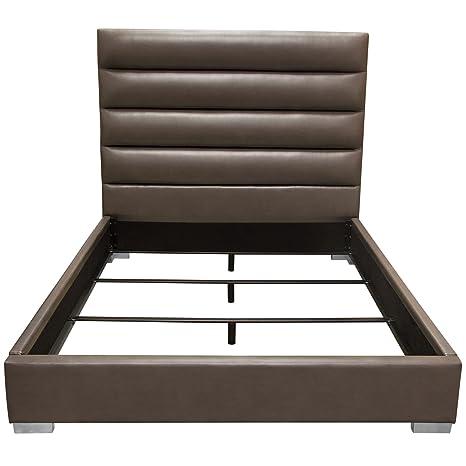 Amazon.com: Diamante muebles Bardot canal Tufted cama en ...