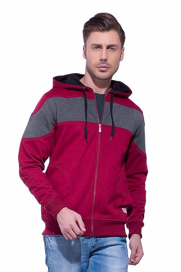 Alan Jones Clothing Men\'s Cotton Hooded Neck Sweatshirt Men\'s Sweatshirts