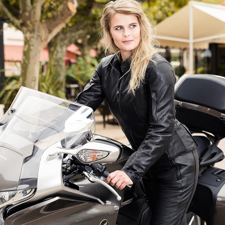 Hein Gericke Sienna II Damen Lederjacke schwarz 34