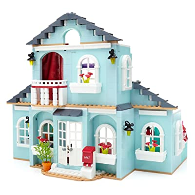 Mega Bloks American Girl Grace's 2-in-1 Buildable Home: Toys & Games