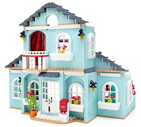 Amazon Mega Bloks American Girl Graces 2 In 1 Buildable Home