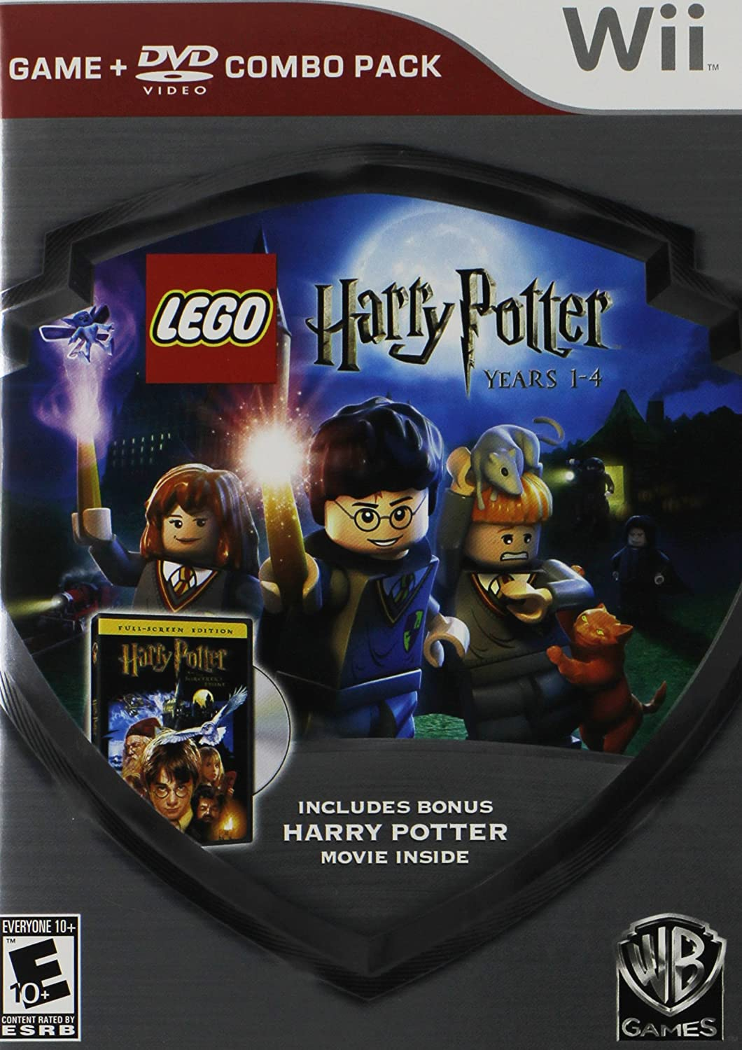Lego Harry Potter: 1-4 Game/HP Sorcerers Movie DVD USA: Amazon.es: WB Games: Cine y Series TV
