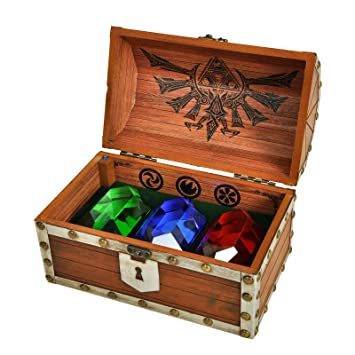 Unbekannt The Legend of Zelda Rupee Briefbeschwerer Schatztruhe